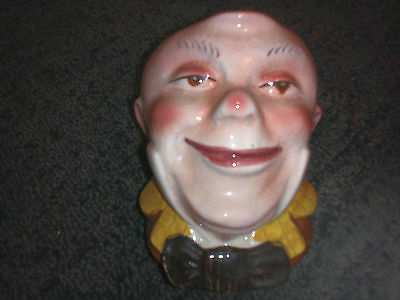 Mr Micawber Toby Jug. Produced by Avon Ware in England. Free UK P&P.