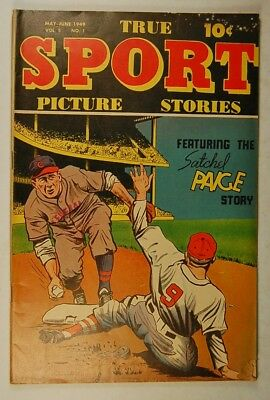 True Sport Picture Stories Vol 5-1 (May-June 1949, Street & Smith) Satchel Paige