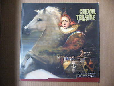 CHEVAL Horse Theatre Program, admission ticket stub, brochure 2002 Circus 26 pgs