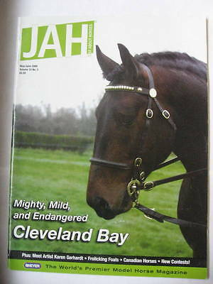 Breyer JAH Just About Horses Magazine 2006 MAY JUNE Volume 33 # 3 CLEVELAND BAY