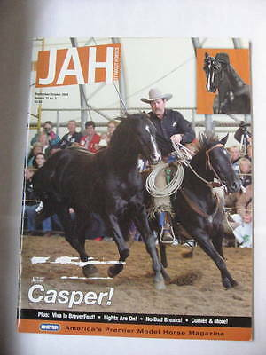 Breyer JAH Just About Horses Magazine 2004 SEPTEMBER OCTOBER Volume 31 #5 CASPER