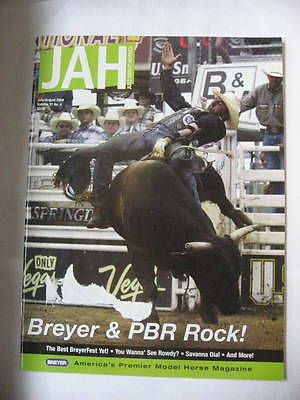 Breyer JAH Just About Horses Magazine 2004 JULY AUGUST Volume 31 # 4 PBR BULL