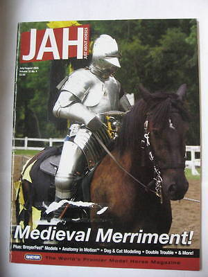 Breyer JAH Just About Horses Magazine 2005 JULY AUGUST Volume 32 # 4 MEDIEVAL