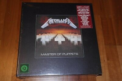 METALLICA - Masters Of Puppets / Super Deluxe Box / 3 LP's / 10 CD's / 2 DVD x.