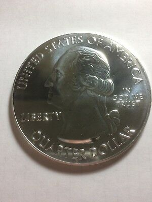 Five ounces ATB 5oz Silver Quarter - Hawaii - Hawaii Volcanoes - Coin Only -2012