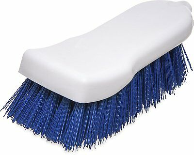 """Carlisle 4052114 Sparta Commercial Cutting Board Brush, 6"""" x 2.5"""", Blue Pack of"""