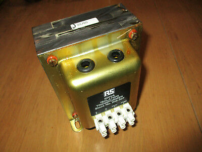RS Components - ISOLATING TRANSFORMER - 500VA - BOXED