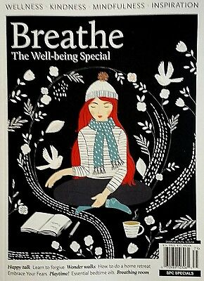 Breathe Magazine Mindfulness Wellness Kindness The Well-Being Special  2017 NEW