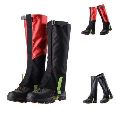 2x Waterproof Walking Boot Hiking Climbing Trekking Snow Ski Legging Gaiters