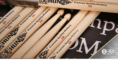 5A Drum Sticks American Hickory Tough Long Lasting Wood By Hanflag Free Shipping