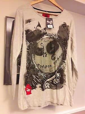 Nightmare before Christmas Long T Shirt, XL