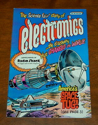 Science Fair Story Of Electronics fall1982 spring 1983 radio Shack VF-/VF White