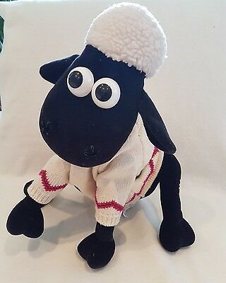 Shaun the sheep soft toy plush with zip LARGE