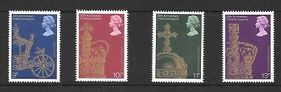1978 25th Anniversary of the Coronation SG1059/62 - Unmounted Mint set