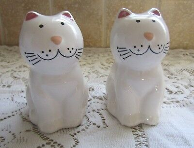 Cat Ceramic Salt & Pepper Shakers