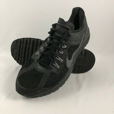 Nike Air Max + 2013 Running Shoe size 13 554886-001 Mens Black/Dark