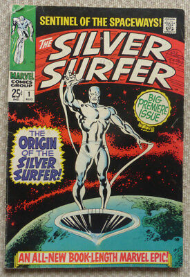 Silver Surfer #1, Original Silver Age Classic From 1968.