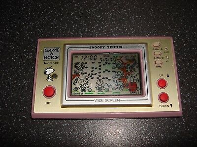 """Nintendo Game & Watch """"snoopy Tennis Sp-30"""" Rare And Collectable Game!!"""