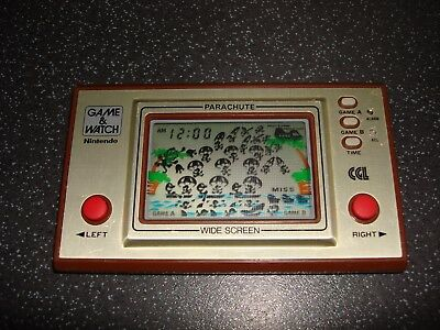"""Nintendo Game & Watch """" Parachute Pr-21 Cgl """" Rare And Collectable Game!!"""