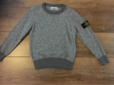 Boys Stone Island Grey Jumper age 8 immaculate condition