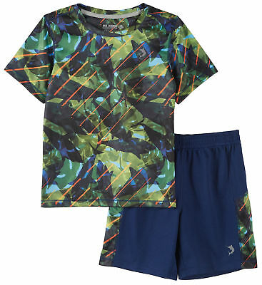 Reel Legends Little Boys Reel-Tec Shark Shorts Set