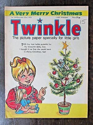 TWINKLE COMIC.  NO.309  DECEMBER 22nd. 1973. CHRISTMAS ISSUE.