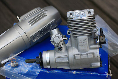 OS AX 46 Model RC Aircraft Engine Unused still in box Made in Japan Excellent