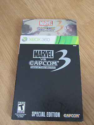 Marvel vs. Capcom 3: Fate of Two Worlds -- Special Edition (Xbox 360) - SEALED