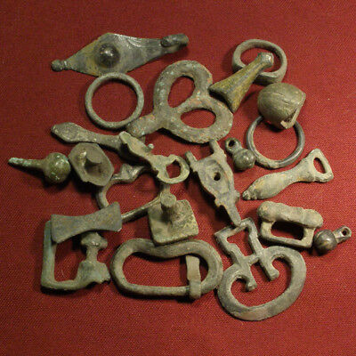 Lot of 22 Roman Legionary Fitting
