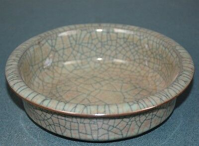 Fine Antique Chinese Porcelain Bowl Crackle Very Rare And Nice Du3901