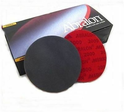 "Mirka Abralon Sanding Pads Single 3"" - 6"" Various Grits"
