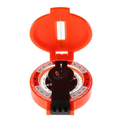 Pocket Compass for Hiking Camping Traveling Outdoor- Portable Round Compass