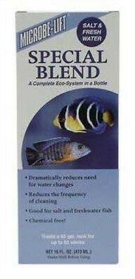 Microbe-Lift Special Blend for Home Aquariums, 16-Ounce
