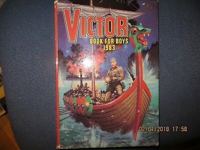 Vintage Victor Book For Boys - 1983 Annual