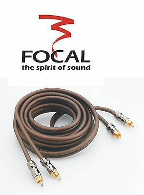 Focal ELITE ER5 Chinch Kabel 5m 6mm²  100%  Kupfer Car & Home HiFi  Chinchkabel
