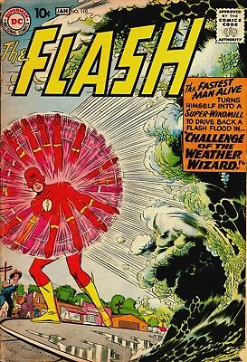 The Flash #110 (1959) Photocopy Comic Book - Kid Flash Wally West 1St App Intro