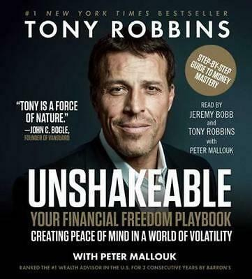 NEW Unshakeable By Tony Robbins Audio CD Free Shipping