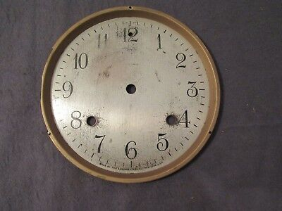 "Antique Ansonia 6"" Mantle Clock Face Dial Crafts Art Project Decoration Repair"