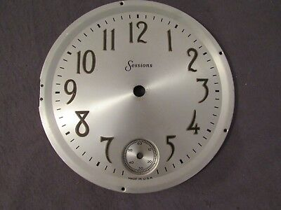 "Sessions 6.5"" Mantle Clock Face Dial Crafts Art Project Decoration Repair"