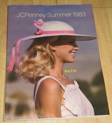 Vintage JC Penney Catalog Summer 1983 Fashion Clothing Shoes Book JCP RARE