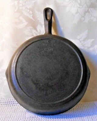 Vtg BSR Century Series 10 inch Cast Iron Skillet #7 Heat Ring Double Pour
