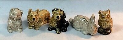 "Lot Of 4 Vintage ""Red Rose Tea"" Figurines. Excellent Condition."