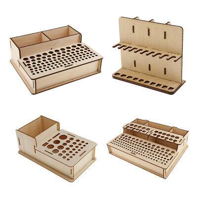 Leathercraft Tools Rack Stand Box Painting Brushes Organizer Holder Container