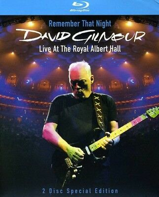 David Gilmour - Remember That Night: Live at the Royal Albert Hall [New Blu-ray]