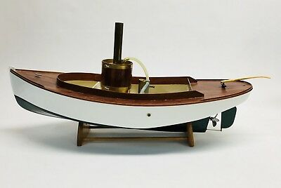 """MODEL- SCRATCH BUILT Steamboat with Steam Engine 20"""""""