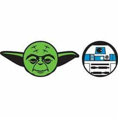 Star Wars Yoda R2D2 Antenna Topper - 2 pack