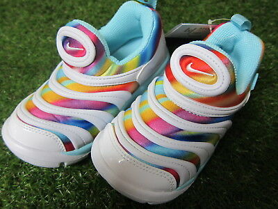 Nike Dynamo free print TD special limited rainbow color 9c  UK8.5 From Japan