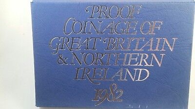 Great Britain 1982 Proof Set from original collector