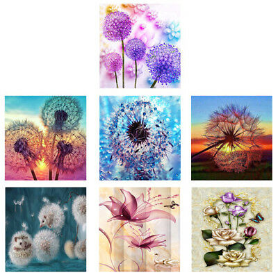DIY 5D Diamond Painting Embroidery Cross Crafts Stitch Kit Home Wall Decor Craft