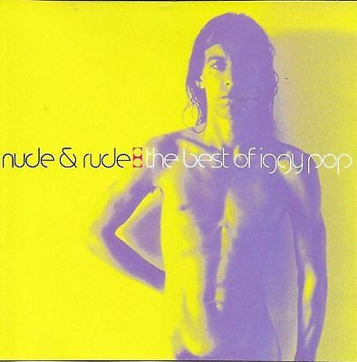 IGGY POP nude and rude: the best of (greatest hits) (CD compilation, Brazil)